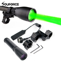Green Laser Hunting Sight Sunsfire ND-30 Laser Designator Long Distance Laser Light Sight Adjustable Beam K