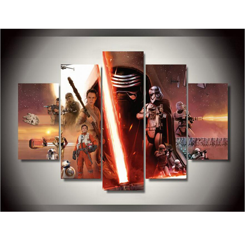 Star Wars Canvas Wall Decor Pictures To Pin On Pinterest