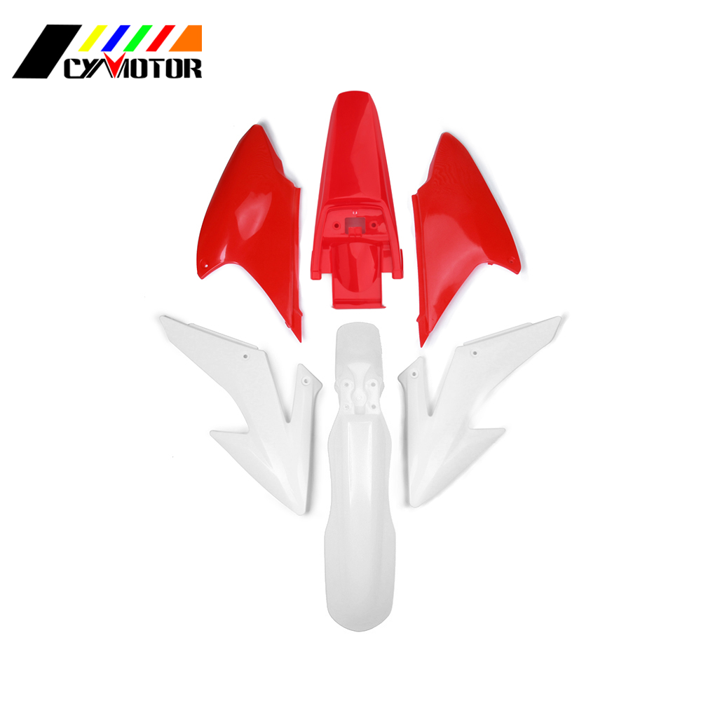 Motocycle Plastic Body Kit Fairing Front Rear Fender Mudguard For HONDA CRF230F 2008 2009 CRF150F 2012 2013 2014 CRF 230 150 F motorcycle cnc rear brake pedal lever for honda crf150f crf230f 2013 2014 2015 2016 2017 crf 150f 230f