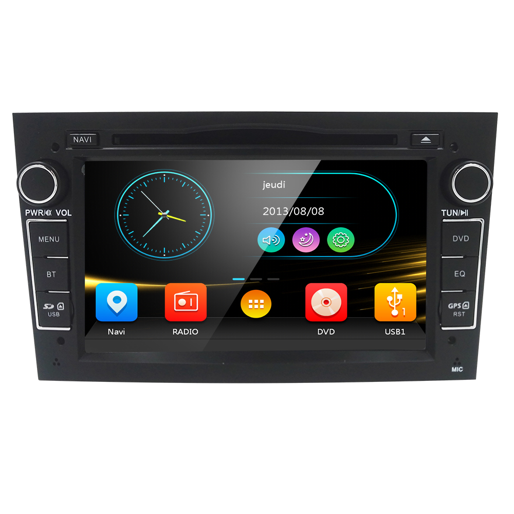 купить 7 inch Car Audio Stereo Double Din In Dash for Opel Vauxhall Corsa Vectra Astra Support GPS Navigation DVD Player Mirror Link онлайн