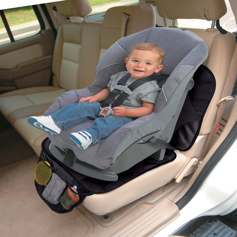 New Black Car Seat Protector Mat Auto Baby Cover Infant Saver Easy Clean Safety Anti Slip Cushion In Automobiles Covers