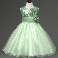 Children S Christmas Dresses For Girls Wedding Party Baby Girl Kids Prom Gown Kids Dress For
