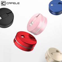 CAFELE Original retractable USB charging Cable For iPhone 5 5s 6 6s 7 Plus Candy Colors Fast Charging Cable 8 pin for iPhone
