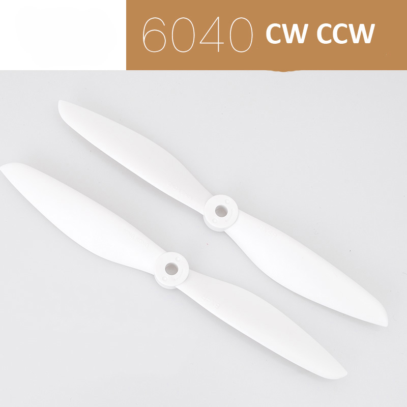 5Pairs <font><b>6040</b></font> <font><b>Propeller</b></font> PC Fiber <font><b>Propellers</b></font> CW CCW Drone <font><b>Propeller</b></font>/Paddles in 5mm Hole Pitch for RC Quadcopter/ UAV Shafts Connect image