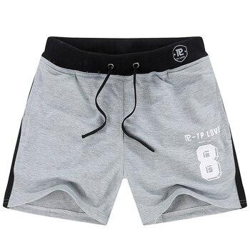 Summer Board Shorts Men Cotton Casual Beach Shorts