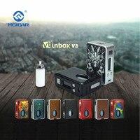 HCIGAR VT inbox V3 squonk Mod BOX Output 1 75w Vaporizer Evolv DNA75 Chip Powered 18650 Battery elektronik sigara mod