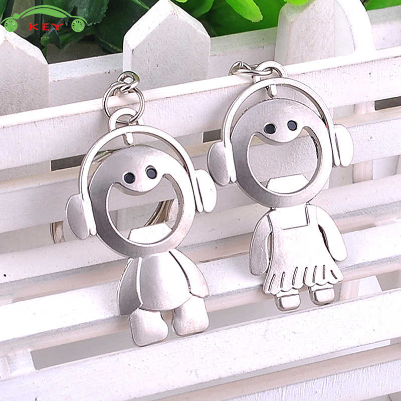 Detail Feedback Questions About Cute Monkey Couple Car Keychain Auto