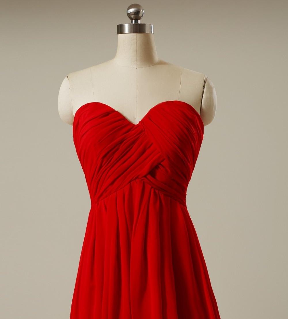 versandkostenfrei rot Brautjungfer Abendkleider   Kleid & Kleidung