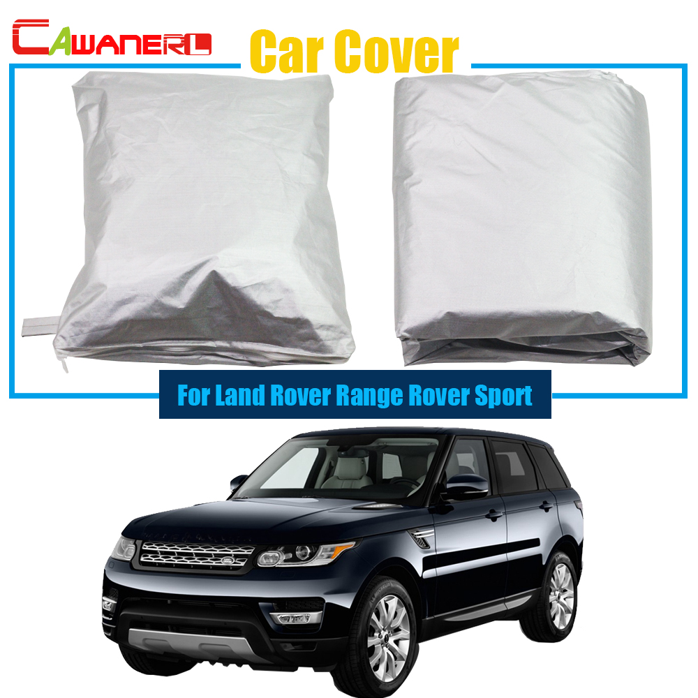 Cawanerl Full Car Cover Anti UV Sun Snow Rain Resistant Protector Cover Dustproof For Land Rover
