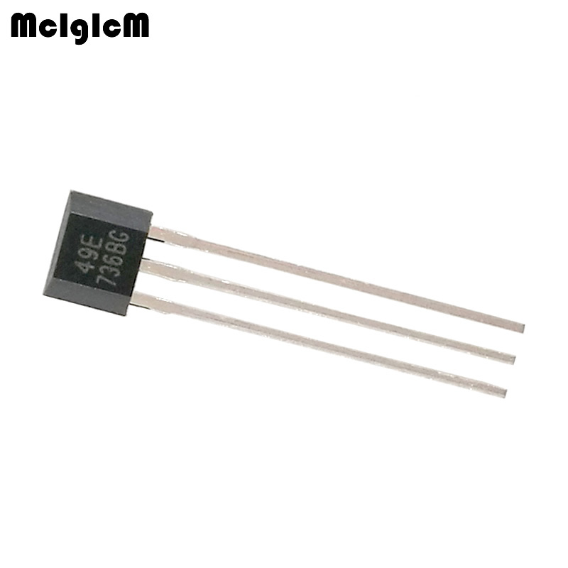 MCIGICM 49E Hall element OH49E SS49E Hall sensor Hall Effect Sensor-in Integrated Circuits from Electronic Components & Supplies    1