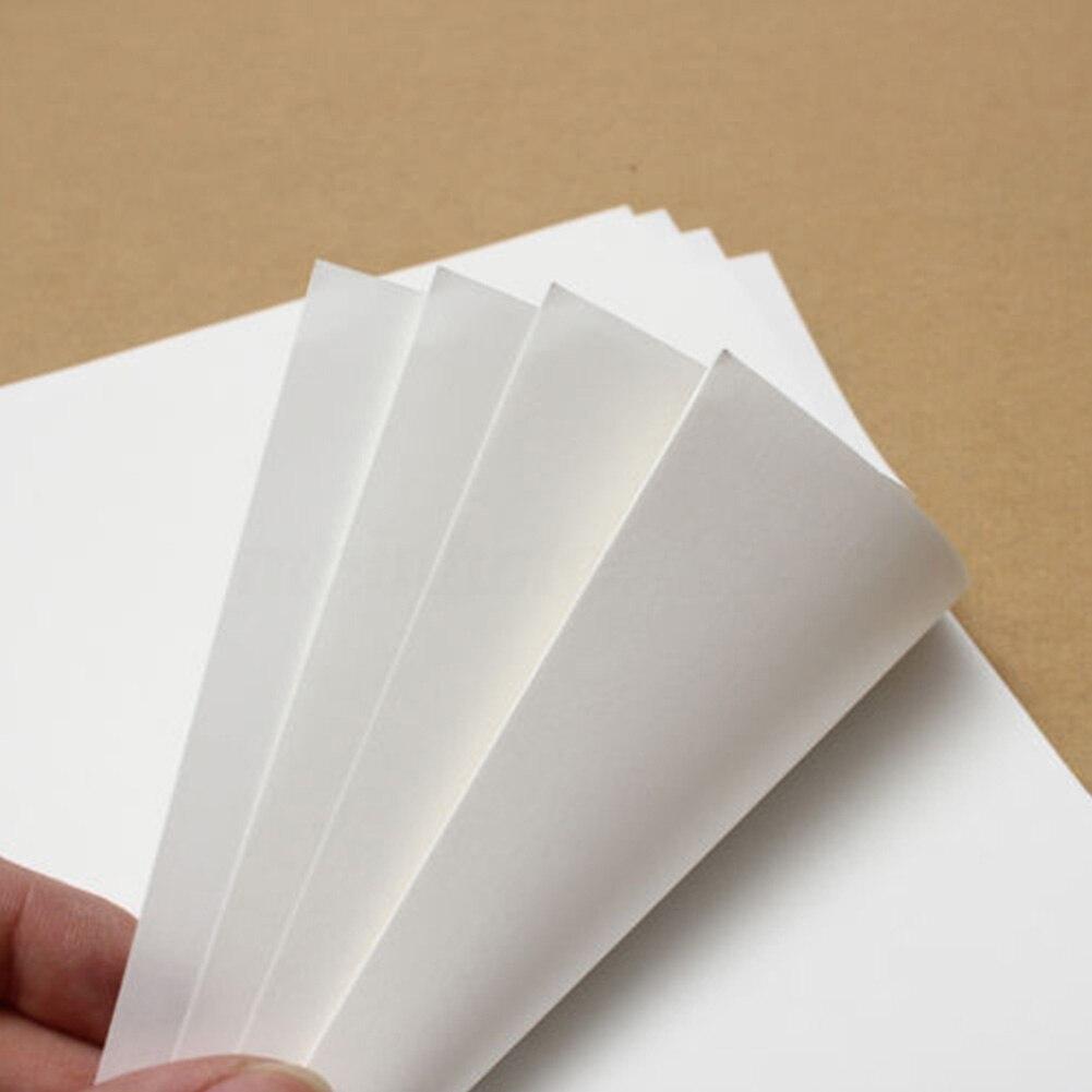 10pcs Light Fabric Printworks Transfer T-Shirt Iron A4 Paper Light Color Heat For Inkjet Printers