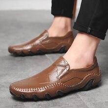 Hoge Kwaliteit Snakeskin Mannen Loafers Koop Goedkope