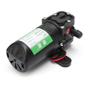 Image 5 - DC 12 V 70PSI 3.5L/мин сельскохозяйственный Электрический водяной насос черный микро высокого давления мембранный распылитель воды Автомойка 12В 0,48