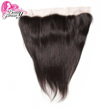 Beauty Forever 13*4 Lace Frontal Straight Brazilian Hair Free Part Ear to Ear 100% Remy Human Hair Lace Frontal - DISCOUNT ITEM  20 OFF Hair Extensions & Wigs