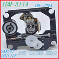 Mcd300 dvd cabezal láser (idp-200a/plástico con mecanismo idp-300a) idm-511a/idm-511a-d idp300a (idm510a/idp200a)