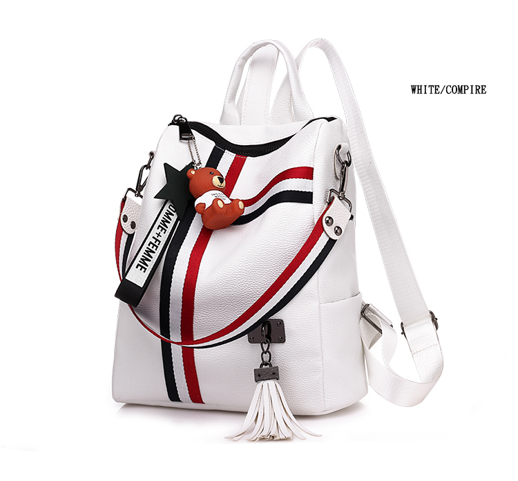 2018 New Retro Fashion Ladies Backpack 0024