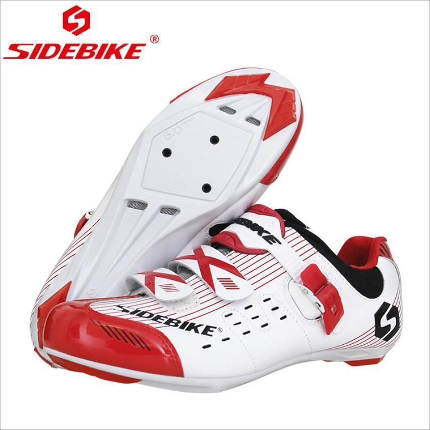 Здесь продается  SIDEBIKE Road Racing Cycling Shoes Road Nylon Breathable Sidebike Bicycle Shoes Cycle Sneakers Sapatilha Ciclismo Zapatillas  Спорт и развлечения