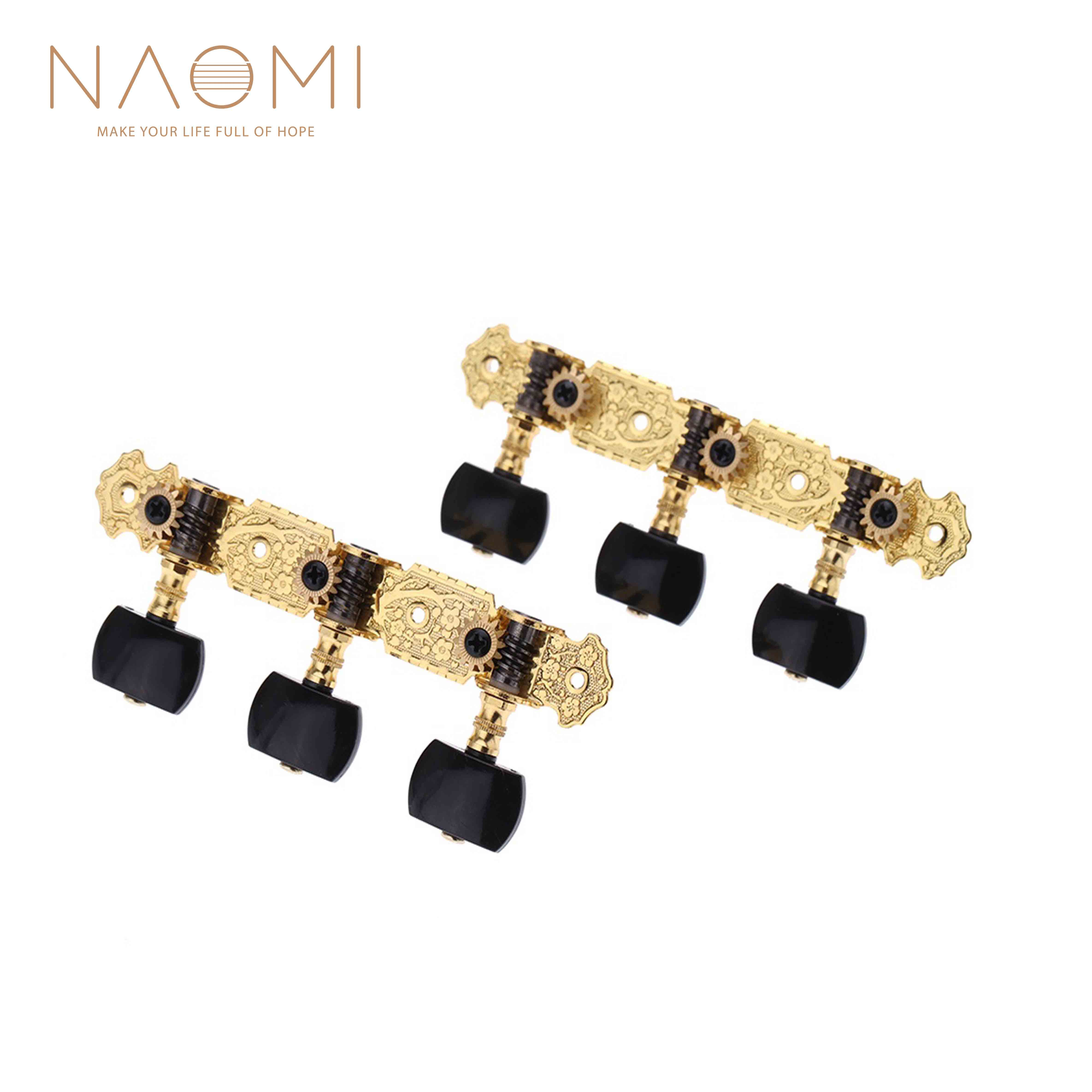 naomi alice plated guitar tuning pegs gold plated durable guitar machine heads classical guitar. Black Bedroom Furniture Sets. Home Design Ideas