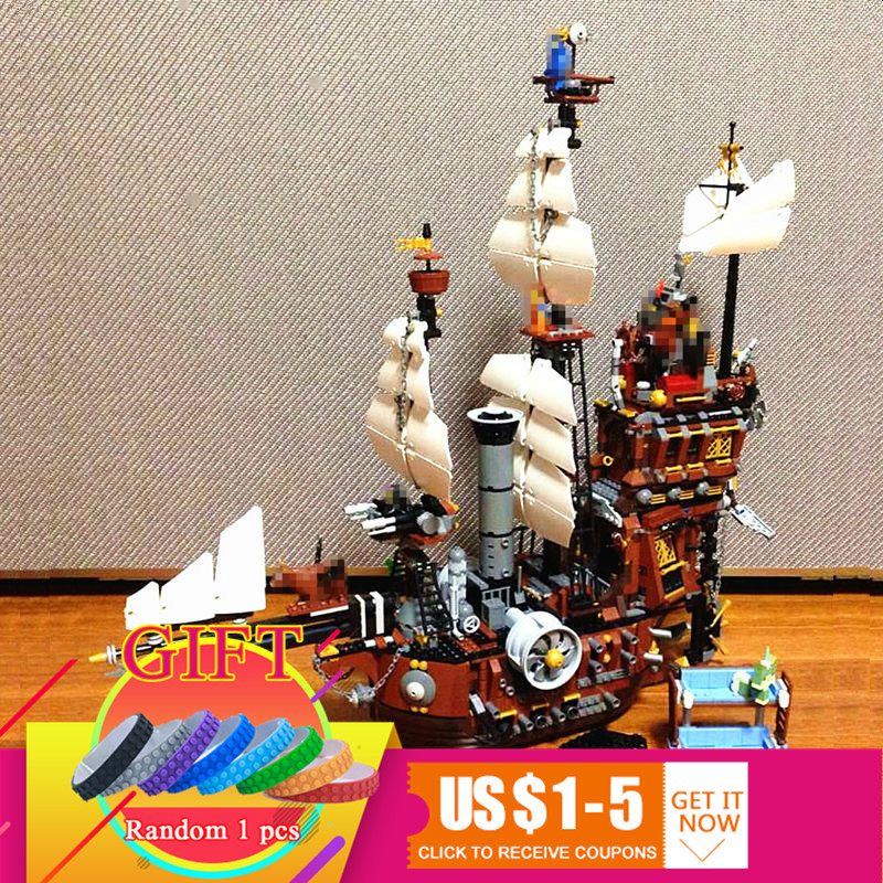 16002 2791Pcs Pirate Ship Metal Beard's Sea Cow set Model Building Kits Mini Blocks Compatible With 70810 toys lepin 16002 2791pcs pirate ship metal beard s sea cow set model building kits mini blocks compatible with 70810 toys lepin