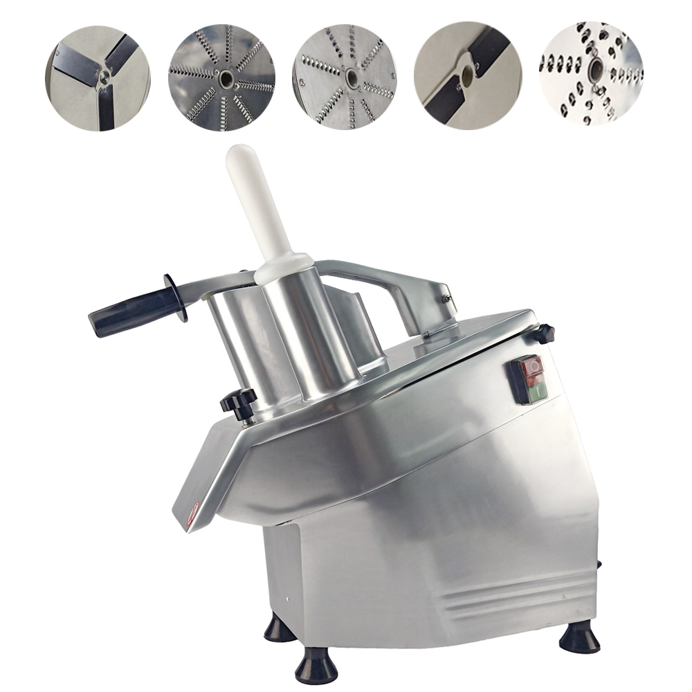 Multifunction Stainless Steel Vegetable Slicing Cutter Machine Electric Cutter Dicing Machine For Kitchen Restaurant