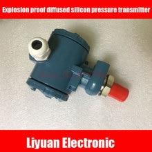 Explosion proof 2088 shell diffused silicon pressure transmitter / pressure water supply sensors / 4 20MA pressure sensor