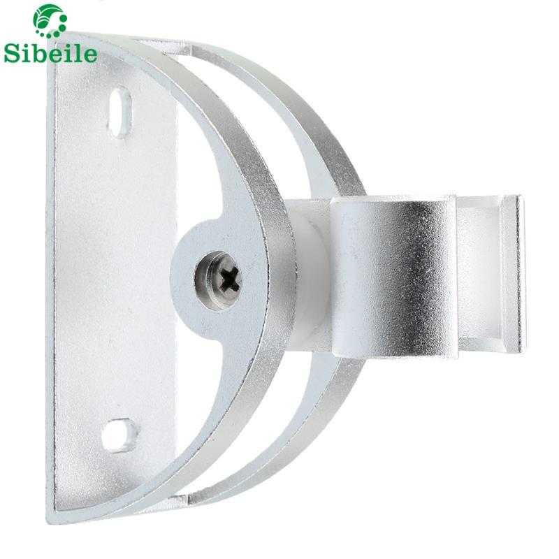 sble silver bathroom wall mounted showerhead holder bracket aluminum alloy adjustable universal moving shower head holder