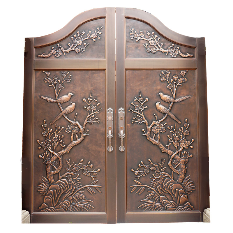 Aluminum Indian House Main Gate Designs Hc A9 In Doors From Home