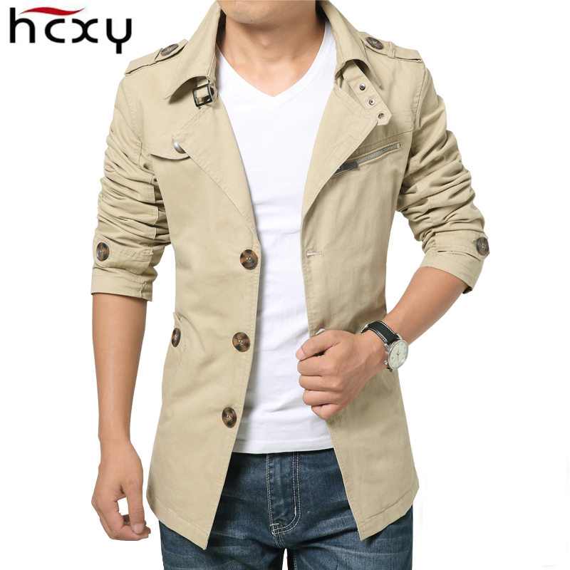 HCXY 2019 Autumn winter Fashion Men s Windbreaker warm Men Jackets thick Jacket Full cotton Plus Innrech Market.com