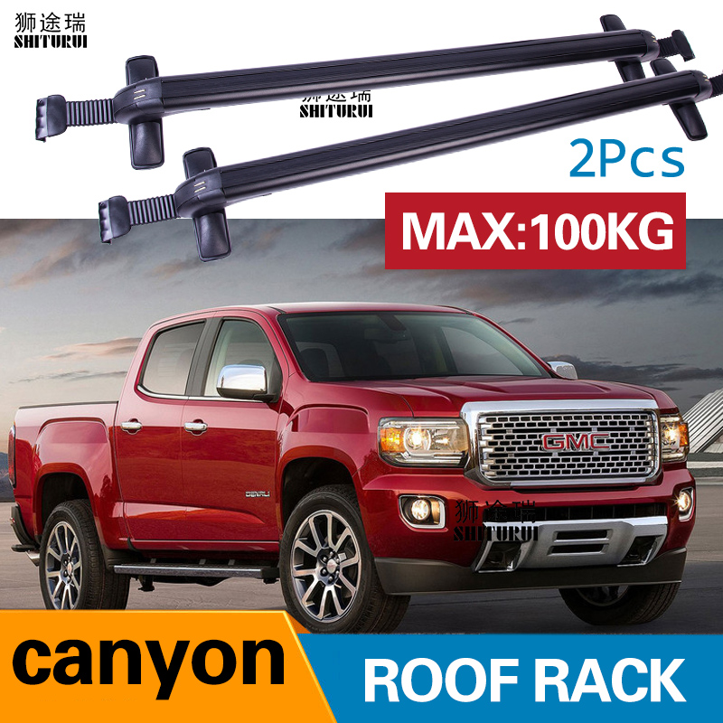 Car Luggage Rack Crossbar Roof Rack FOR GMC Canyon, 4 Dr