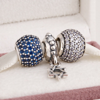 Fits European Charms Bracelet and Necklace 925 Sterling Silver Jewelry Charm Sets Fashion Charm Beads for Women & Men Jewelry