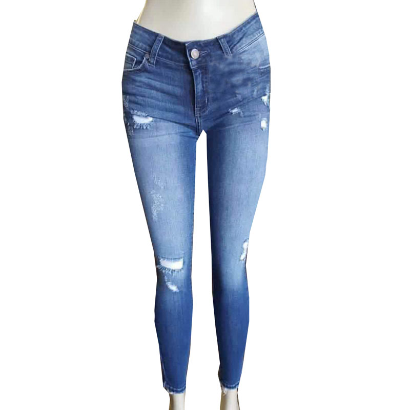 Europe And The United States Distressed Denim Broken Holes Fashion Skinny Ripped Jeans XYN8024 обувь для дома the united states and pyramax 1838 4c