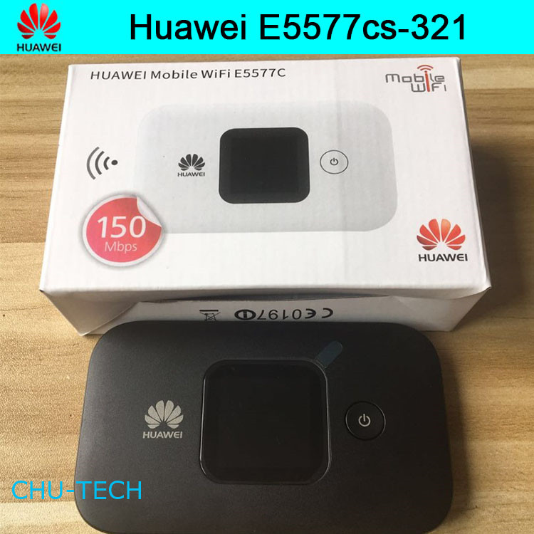 Unlocked Huawei E5577 E5577Cs 321 150 Mbps 4G LTE & 43.2 Mpbs 3G Mobile WiFi Hotspot