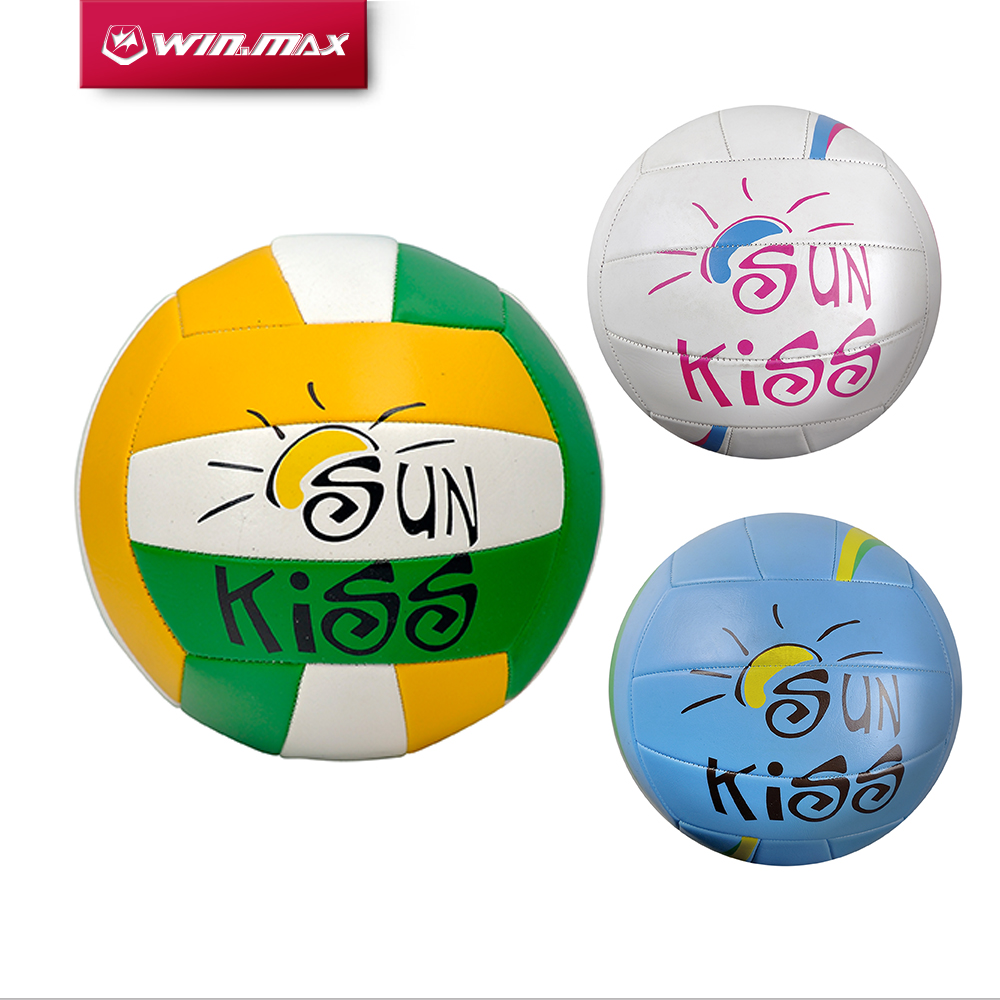 Winmax Size 5 Rubber Volleyball Colorful Volley Ball
