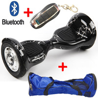 No Tax 10 Inch Two Wheel Smart 2 Wheel Scooter Secure Battery Bluetooth Remote Electric Scooter