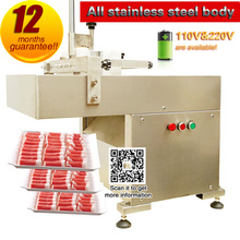 Food Processing Meat Slicer  of lamb,beef and mutton commercial food slicer free shipping(China)