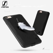 SeenDa мобильного телефона Батарея чехол для iPhone 6/6 S зарядки Батарея крышка с Мощность банк Зарядное устройство чехол для iPhone 6 Plus/6 S Plus