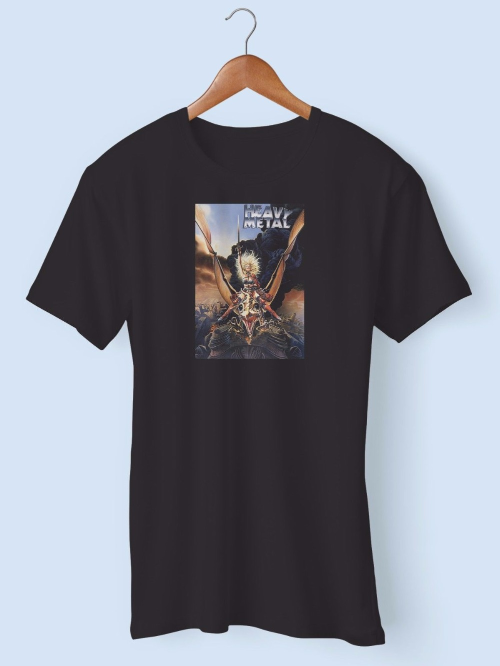 Poster design xxl - T Shirt Hot Sale Clothes O Neck Short Heavy Metal Vintage Movie Poster Black Size S To Xxl Design T Shirts For Men