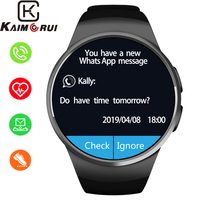 Smart Watch Men IP67 Waterproof Bluetooth Smartwatch Heart Rate Monitor Smart Watches SIM TF Card for IOS Android Watch Phone