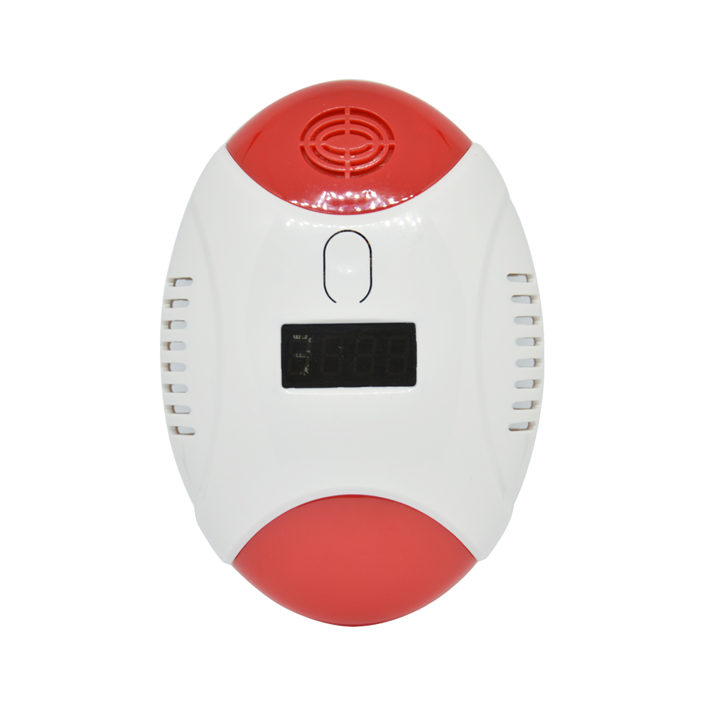 Battery Operated Carbon Monoxide CO Alarm Sensor Gas Leaking Detector Stand Alone Home Security System Fire Alarm