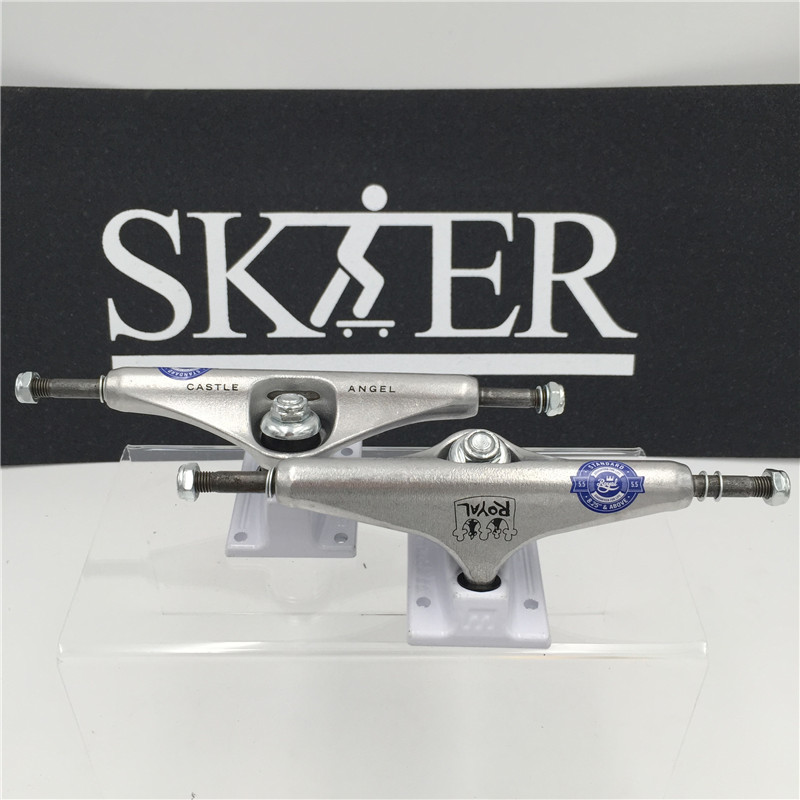 """Image 2 - Quality Skateboard Parts Middle Hollow Type Trucks Skateboard 5.0""""&5.25J"""" Different types Skate Trucks Aluminum Trucks De Skate-in Skate Board from Sports & Entertainment"""