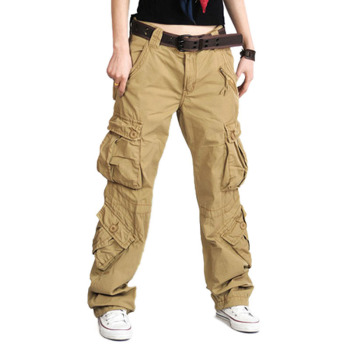 Full Length Hip Hop Military Trouser 1