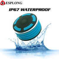 F013 Portable Wireless Bluetooth Speaker Mini LED Subwoofer IPX7 Waterproof Speaker Support FM Radio Hand Free