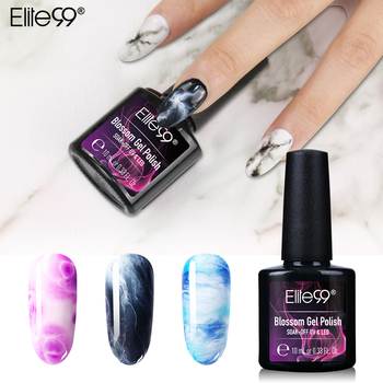 Elite99 10ML Blossom UV Gel Nagellack LED Lampe DIY Nail art Gel Polish Reine Farben Semi Permanent Gel lack Basis Top Mantel