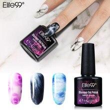 Гель-лак для ногтей Elite99, Прозрачный цветочный эффект, УФ-гель для ногтей, 10 мл