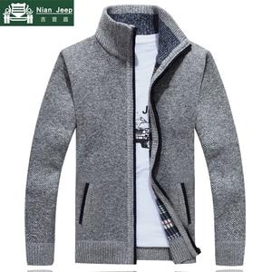 2019 New Sweater Men Autumn Winter SweaterCoats Male Thick F