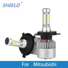Car Headlight Bulb LED H1 H7 H4 12V Auto Light For Mitsubishi Outlander/Nimbus/Montero/Mirage/Magna/Lancer/Grandis/Galant/Expo