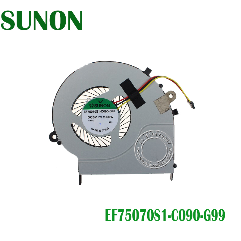 CPU Cooling Fan For Toshiba Satellite L50-B L55-B L50D-B L55T-B L55-B5267 DFS541105FC0T FFD6 EF75070S1-C090-G99