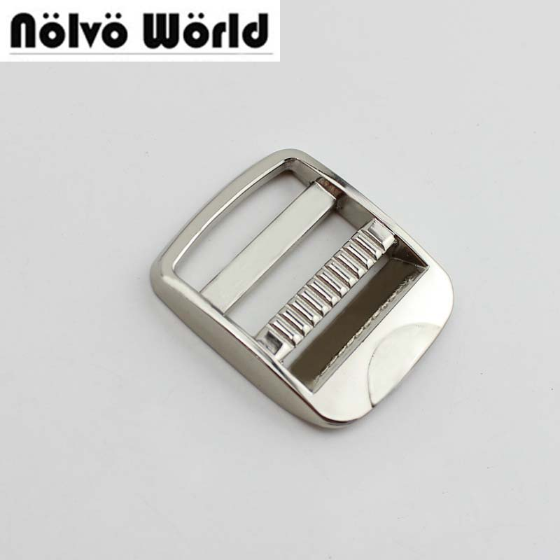 30pcs 4colors 25mm 1 Inch Bags Metal Fitting Hardware Accessories Square Buckles Free Dropship,hardware Slider Buckles