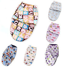 2016 Newborn Swaddle Infant Soft Warm Parisarc Cotton Cartoon Printed Toddler Baby Blanket Baby Wrap Envelop