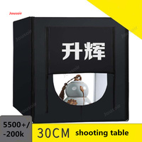 Small studio table dimming led mini Studio cosmetic jewelry shooting simple shooting prop Convenient 30CM CD50 T03